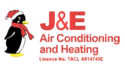 J & E Air Conditioning and Heating Logo