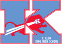 C. Leon King High School Logo