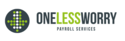 1 Less Worry Payroll Services Logo