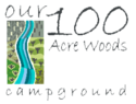 100 Acre Woods Campground Logo