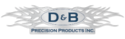 D & B Precision Products Logo