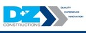 D and Z Construction Logo