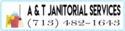 A & T Janitorial Services Logo
