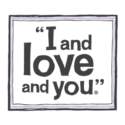 I and love and you Logo