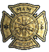 M&M Fire Department Logo