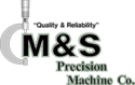 M&S Precision Machining, Inc. Logo