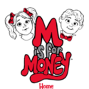 M is for Money Logo