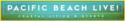 Pacific Beach Live Logo