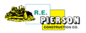 R.E. Pierson Construction Logo