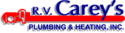 R.V. Carey's Plumbing & Heating Logo