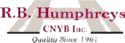 R. B. Humphreys Inc Logo