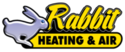 Rabbit Heating & Air Logo
