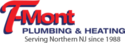 T-Mont Plumbing and Heating Logo