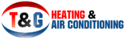 T&G Heating and Air Logo