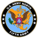 U.S. Army North Logo