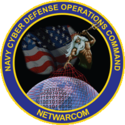 U.S. Navy Cyber Defense Operations Command Logo