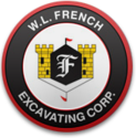 W.L. French Excavating Corporation Logo