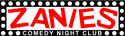Zanies Comedy Club Logo
