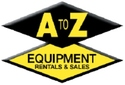 A to Z Equipment Rentals and Sales Logo