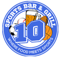 10 Sports Bar and Grill Logo