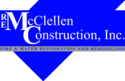 R. E. McClellen Construction, Inc. Logo