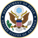 U.S. Department of State's Bureau of Educational and Cultural Affairs Logo