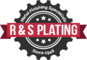 R&S Plating Logo