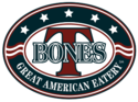 T-BONES Great American Eatery Logo