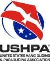 U.S. Hang Gliding & Paragliding Association (USHPA) Logo