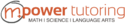 m.power tutoring Logo