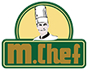 M.Chef Food Logo