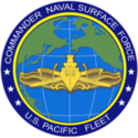 U.S. Navy Commander Naval Surface Force, U.S. Pacific Fleet Logo