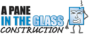 A Pane In The Glass Construction Logo