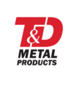 T&D Metal Products Logo
