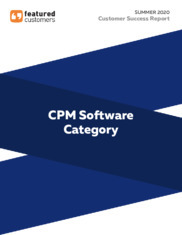 Summer 2020 Corporate Performance Management (CPM)
