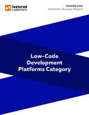 Summer 2020 Low-Code Development Platforms