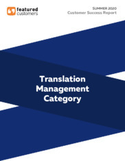 Summer 2020 Translation Management